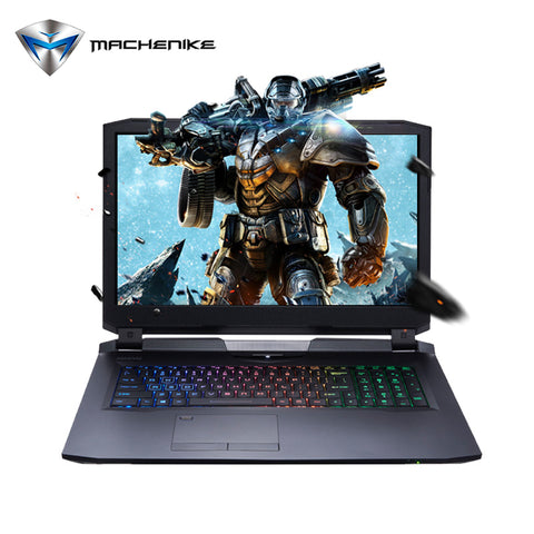 "Machenike PX780-T6K Gaming Laptop Notebook 17.3"" FHD IPS Screen i7-7700K Quad Core"