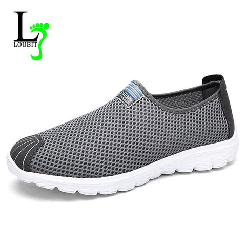 Men Shoes New Mesh Men Loafers Summer Breathable Casual Shoes Fashion Slip on Men