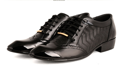 Mens Oxford Shoes men Leather sapatos Dress Office Luxury male spring casual Shoes vintage