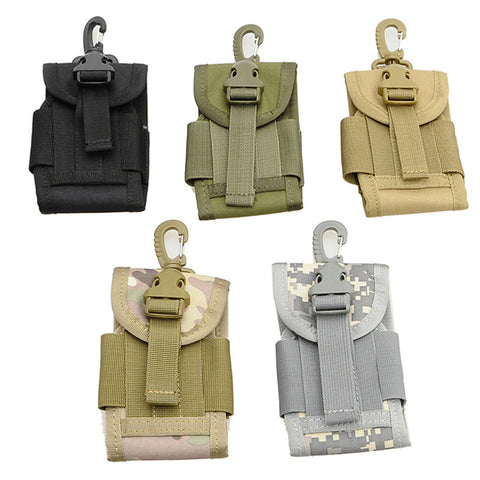 Molle Bag Case Pouch Belt Loop Hook Holster For Mobile Phones 4.5inch Outdoor Universal