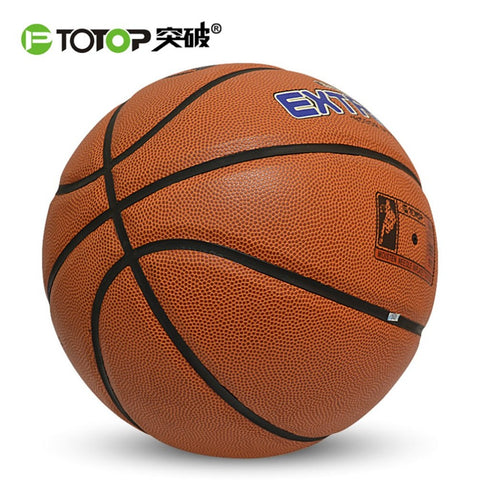 NEW Professional PU Leather Size 7 Basketball Outdoor Sports Basketball for Primary And