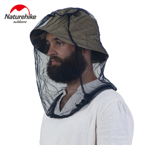 Naturehike Midge Mosquito Insect Hat Bug Mesh Head Net Face Protector Ultralight &