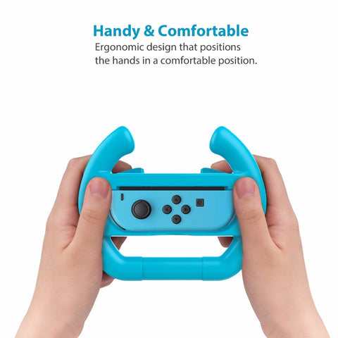 New For Nintendo Switch Joy-Con Controller Steering Wheel for Nintendo Switch Joy-Con