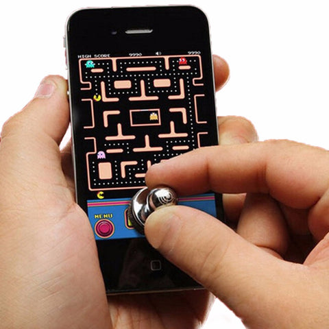 New 2Pcs Small Size Stick Game Joystick Joypad For iPhone for Pad Touch Screen Mobile