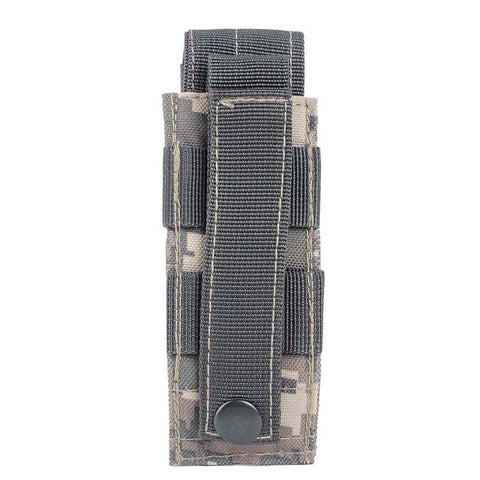 New Arrival Military Tactical Single Pistol Magazine Pouch Knife Flashlight Sheath Hunting