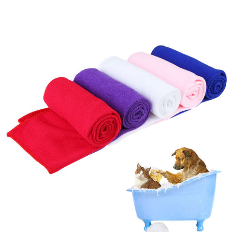 New Arrival Pet Cleaning Comfortable Towels Pet Supply Fast Drying Pet Grooming Microfiber