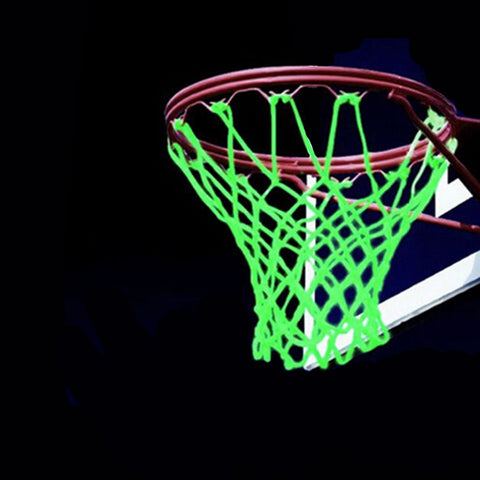 New Glowing Light Shooting Training Green Luminous Basketball Net Backboard Ball Mesh