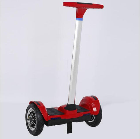 New arrival 10 inch Gyroscope Scooter with handle Motorized Ault big tire Hoverboard stand