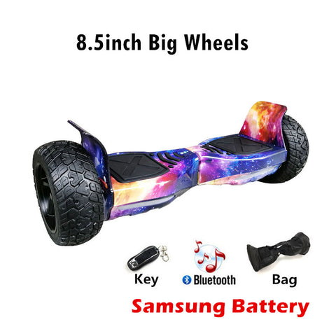 Newest 8.5inch Electric Hoverboard Self balancing Scooter SUV Hoverboard Wheels with