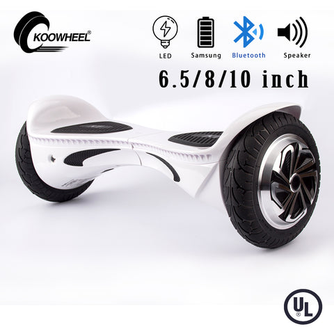 Newest bluetooth hoverboard skateboard 6.5/8/10 inch 2 wheels self balancing electric