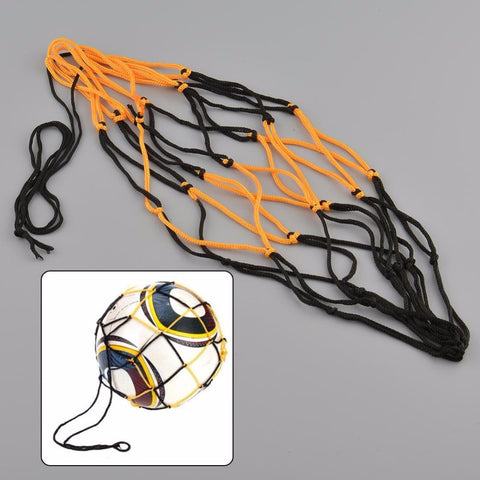 Nylon Net Bag Ball Carry Mesh Volleyball Basketball Football Soccer Champion Outdoor Multi