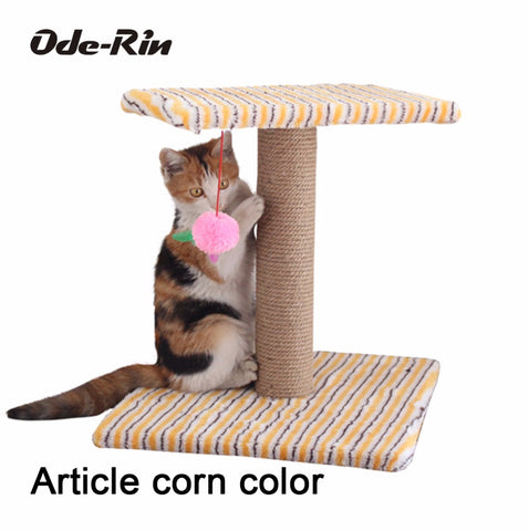 Ode-Rin The small cat climbing frame pillar small platform general anesthesia Pet cat toys