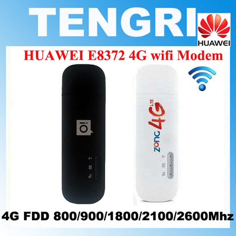 Original Unlocked Huawei E8372 E8372h-153 150Mbps 4G LTE USB modem Mobile WiFi dongle .