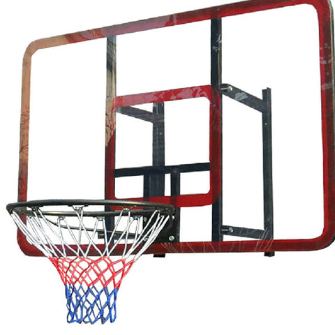 Outdoor Sporting Basketball Net Standard Nylon Thread Sports Basketball Hoop Mesh Net