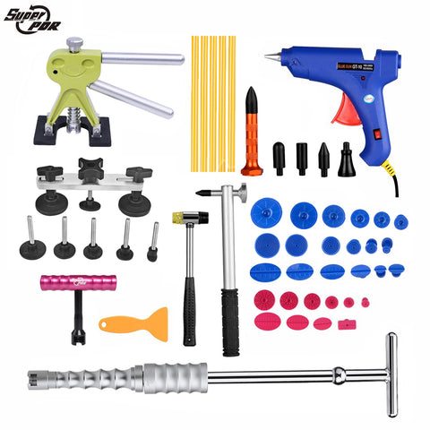 PDR tool Dent Removal Paintless Dent Repair tools for car tool kit Slide Hammer Dent