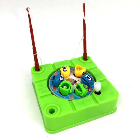 Pesca Electric Cartoon Magnet Magnetic Fishing Toy Outdoor Sports Fishing Toys Children