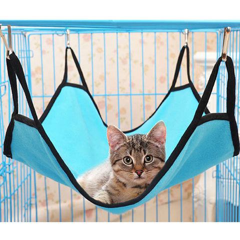 Pet Cat Dog Hammock Soft Bed Animal Hanging Pupply Comforter Ferret Cage House .