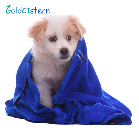 Pet Dog Cat Towels Cleaning Take a shower Puppy Kitten Drying Towel Ultra-absorbent Hair