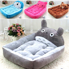 Pet House Big Blanket Cushion Basket Supplies Cute Animal Dog Beds Teddy Mats Pet Dog Sofa