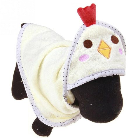 Pets Dog Cat Puppy Dog Towel Cute Bathrobe Cartoon Absorbent Pet Bath Towel Blanket .