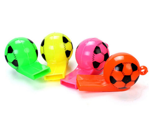 Plastic strap football referee whistle whistle soccer World Cup cheer props toys .