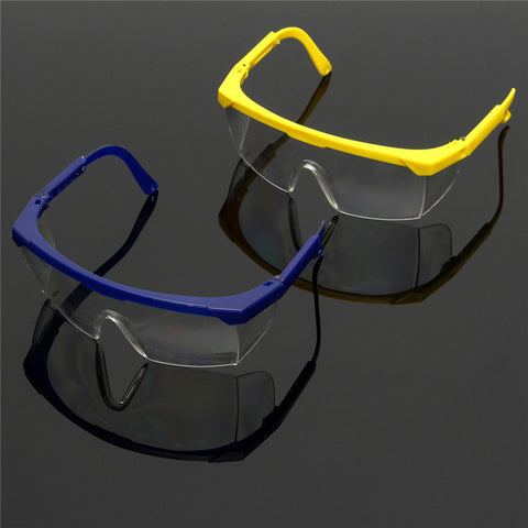 Protective Glasses Blue and White Color Safety Goggles Eye Protection Workplace Safety
