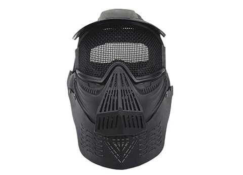 Quality high strength steel wire round mesh mask cool airsoft masks