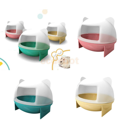 Rat Mouse Hamster Gerbille Pet Washroom Bathroom Hamster Toy Toilet 3 Colors .