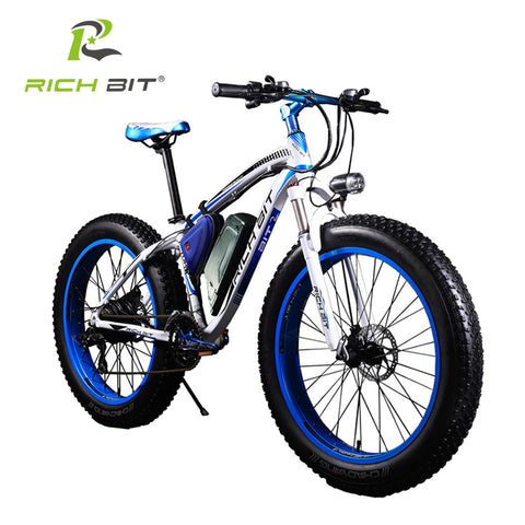 RichBit New Super Ebike Powerful Electric Snow Bike 21 Speed Ebike 48V 1000W Electric