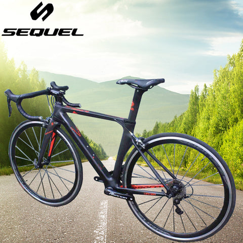 Road Bike Carbon Fiber Frame / Fork / Seatpost Cycling Bicycle SHIMANO 22 Speed 4700 and
