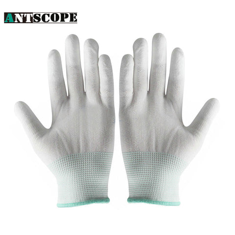 Safety Gloves PU Protective Antistatic Gloves Anti Static ESD Electronic Working Gloves PC