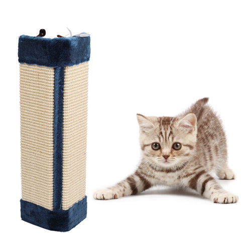 Sisal Cat Scratch Board cat Toy Kitten Scratcher Mat Pad Interactive cat Toy for Pet dog