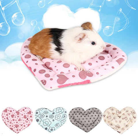 Small Pet Bed Cushion Guinea Pig Rabbit Hamster Cat Mat Blanket Pad Comfortable Beauty
