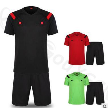 Soccer Referee Jersey Judge Uniform Professional Soccer Referee Clothing Football