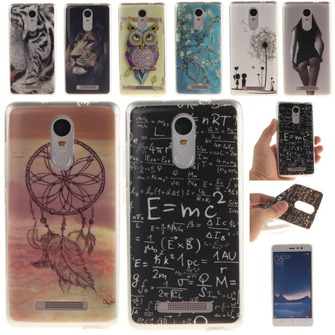 Soft Fundas TPU Phone Case for Xiaomi Redmi Note 4X 4 Pro Prime Redmi 4X 4 4A 3S 3 3X Mi