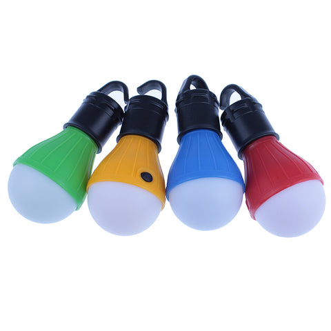 Soft Light Portable Outdoor Hanging LED Camping Tent Light Bulb Fishing Lantern Lamp