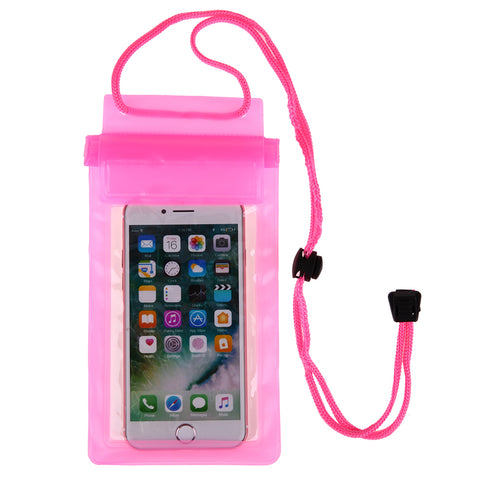 Strong 3 Layer Transparent Waterproof Underwater Pouch Dry Bag Case Cover For iPhone 7