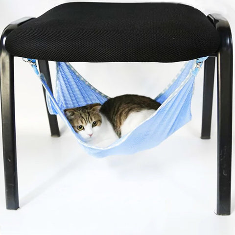 Summer Cat Kitten Hammock, Cat Bed Easily Hung Anywhere in the House, Thin Material in 3
