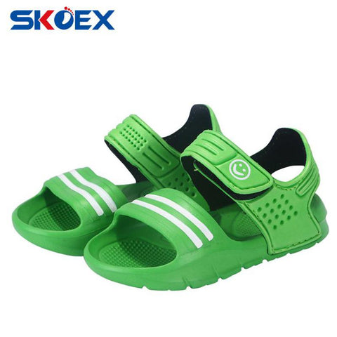 Summer Children Sandals Boys Girls Beach Shoes Slip-resistant Wear-resistant Outdoor
