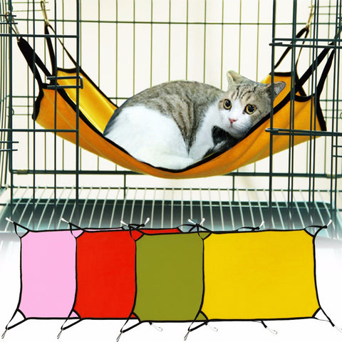 Summer Pet Rat Rabbit Ferret Chinchilla Cat Cage Hammock Kitten Sleep Bed Small Dog Bed