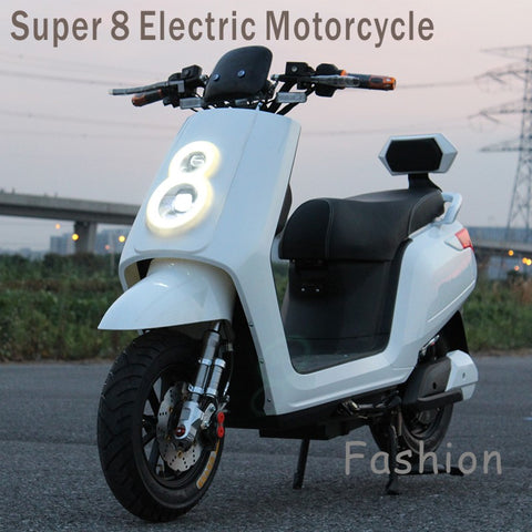 Super 8 Electric Motorcycle .