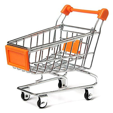 TFBC Funny Parrot toy bird Supermarket Shopping Intelligence Cart Basket .