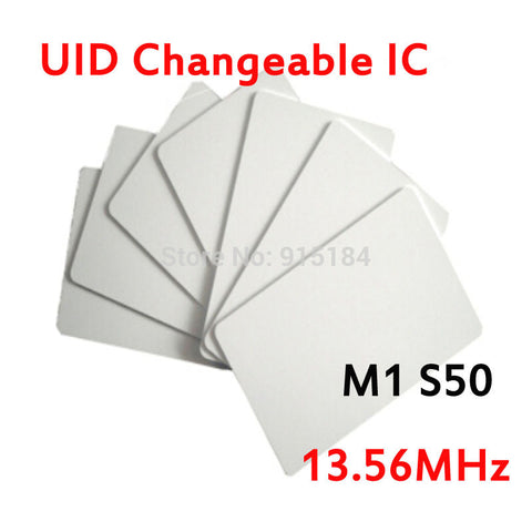 UID Changeable smart Card RFID 13.56MHz ISO14443A Block 0 sector zero writable Copy
