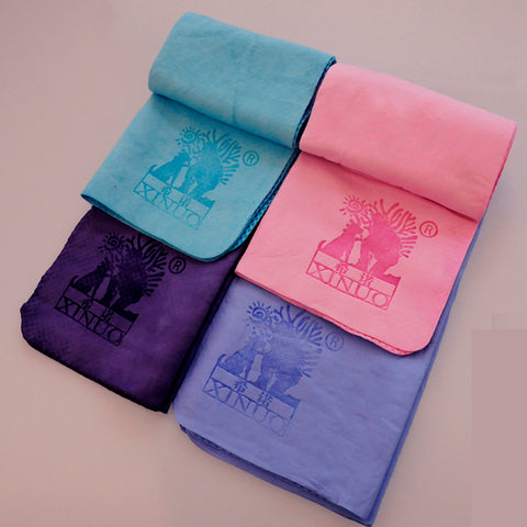 Ultra Absorbent Microfiber Pet Towel with Embroidered Paw print F1 nano-antibacterial .