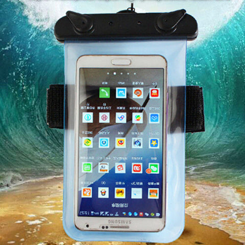 Universal 100% Waterproof Mobile Phone Bags with Strap Dry Pouch Cases Cover For Meizu
