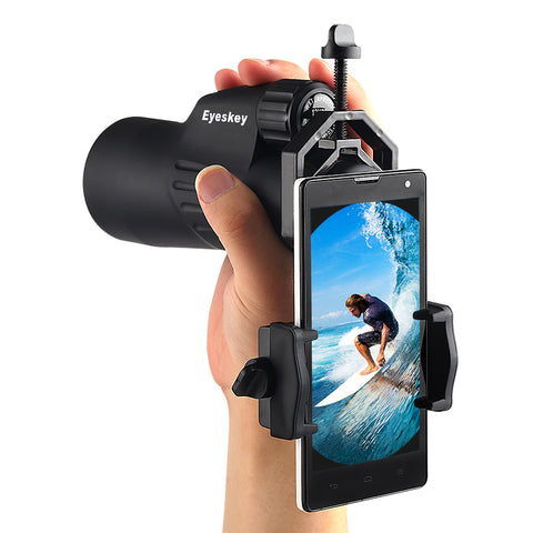 Universal Cell Phone Adapter Mount- Compatible with Binocular Monocular Spotting Scope