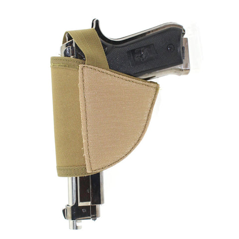 Universal Pistol Holster Adjustable Holster Pouch Right Hand Hook & Loop Holster Case .