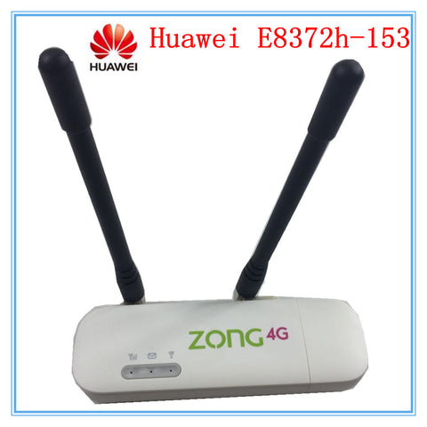 Unlocked Huawei E8372 E8372h-153 ( plus a pair of antenna) LTE USB Wingle LTE Universal 4G