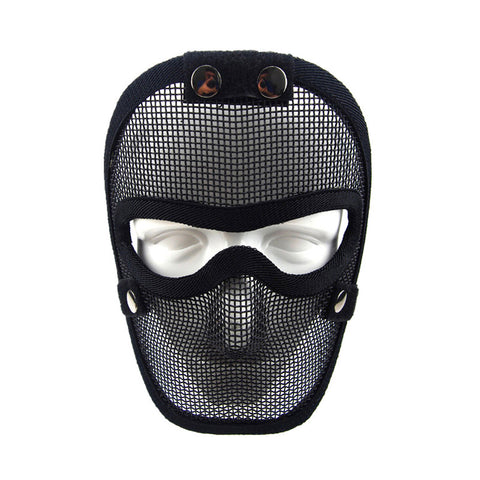 V4 full face steel wire protective mask Hunting tactical protective airsoft mask GZ90053 .