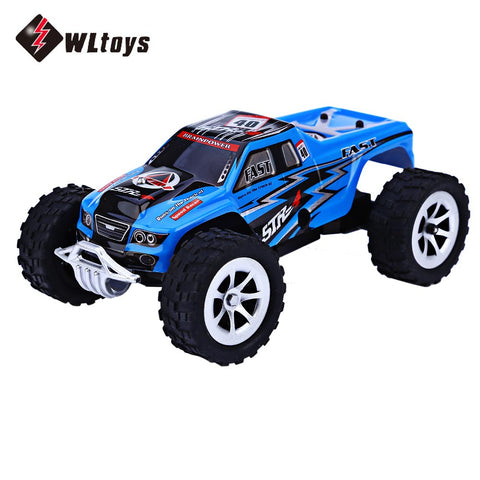 WLtoys L989 2.4G 1:24 Scale Remote Control Car Two Wheel Drive Vehicle Toy .